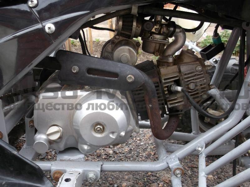 Двигатель квадроцикла Omaks 110 CC 2