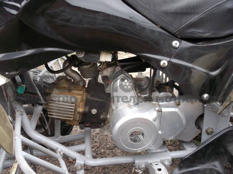 Двигатель квадроцикла Omaks 110 CC 1