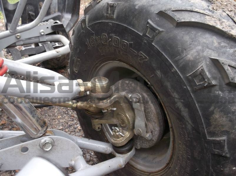 Передние тормоза квадроцикла Omaks 110 CC