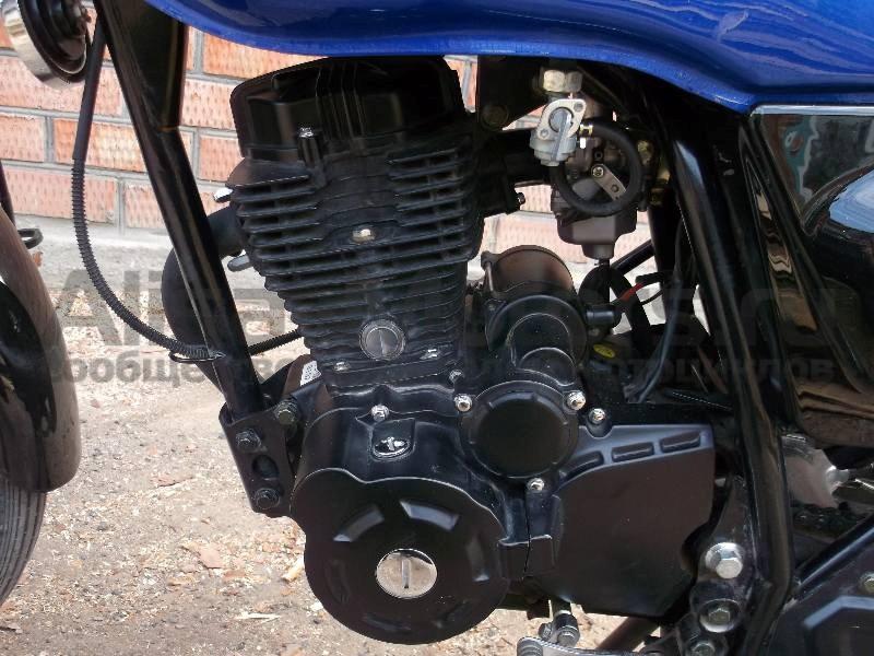 фото двигателя мотоцикла Bullet Evrotex 150