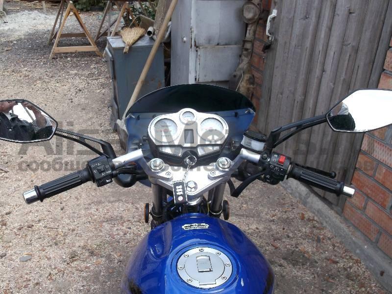 Органы управления мотоцикла Bullet Evrotex 150