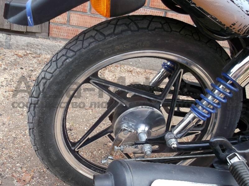 Задняя подвеска мотоцикла Bullet Evrotex 150