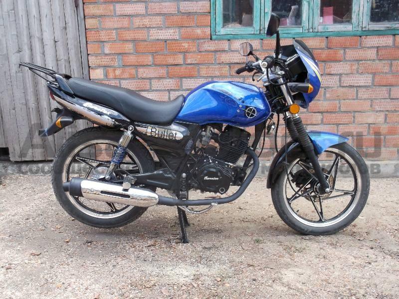 Боковое фото мотоцикла Bullet Evrotex 150