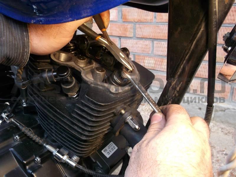 регулировка клапанов двигателя 162 FMJ