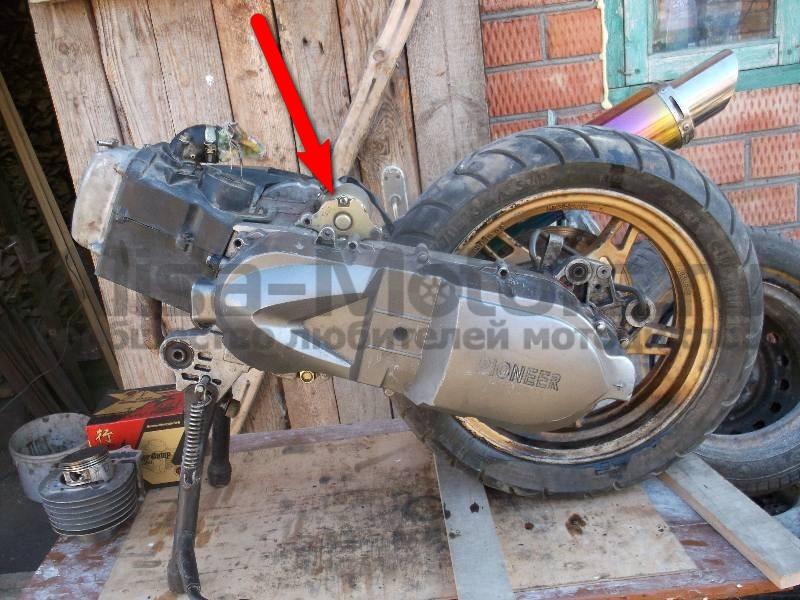 Что где находится в мотоцикле