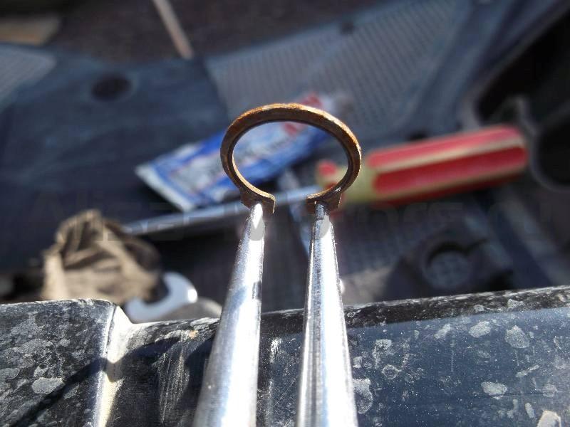 На стопорное скутер кольцо