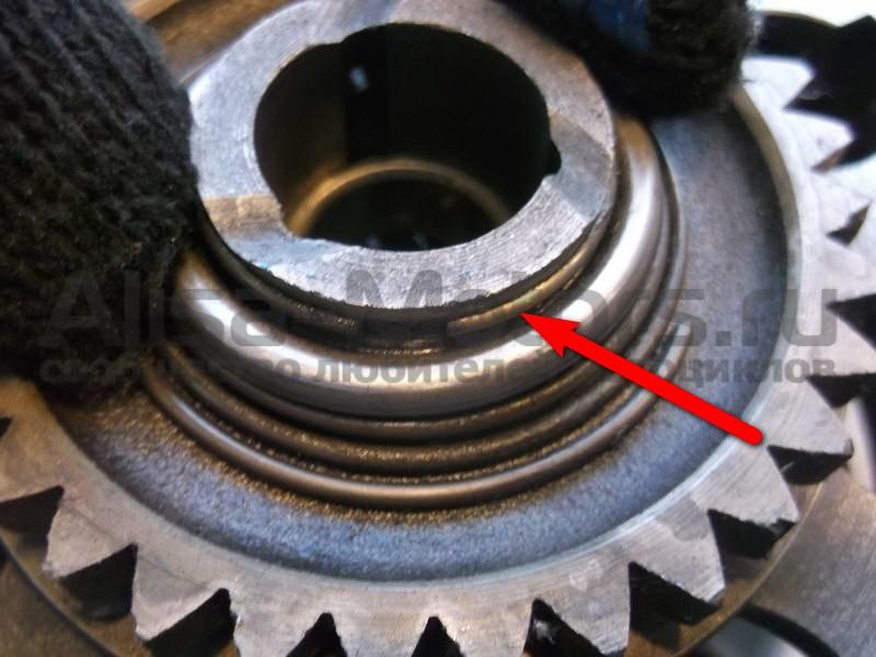 Стопорное кольцо корзины сцепления мотоцикла иж-планета иж-юпитер